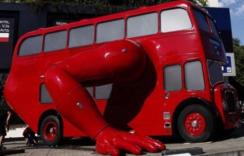 Xe buýt độ chào mừng thế vận hội Olympic