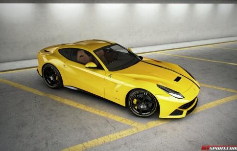 Ferrari F12 Berlinetta mạnh mẽ hơn với Wheelsandmore