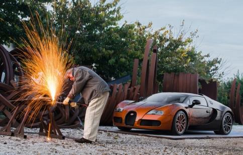 Bugatti Veyron Grand Sport Venet - tuyệt tác nghệ thuật