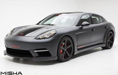 Porsche Panamera hầm hố hơn với bộ cánh mới
