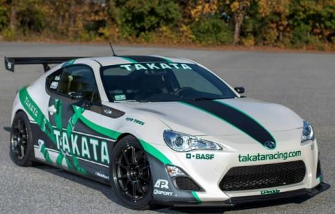 Scion FR-S hóa thân thành xe đua Takata