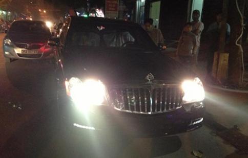 Thêm một xe siêu sang Maybach 62S về Ninh Bình