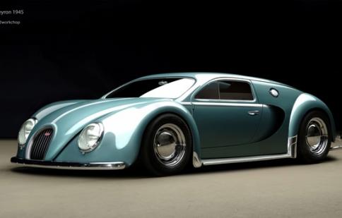 Bugatti Veyron phiên bản bọ Beetle