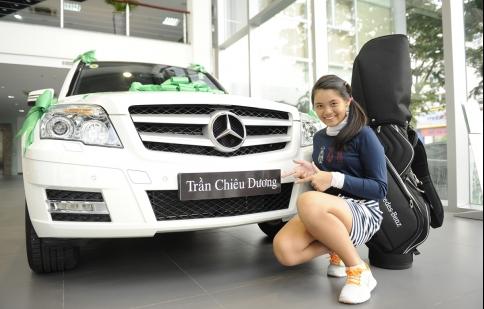 Lái xe Mercedes-Benz có giúp golf thủ chơi golf giỏi hơn không?