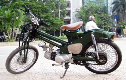 Honda Cub độ độc nhất Việt Nam