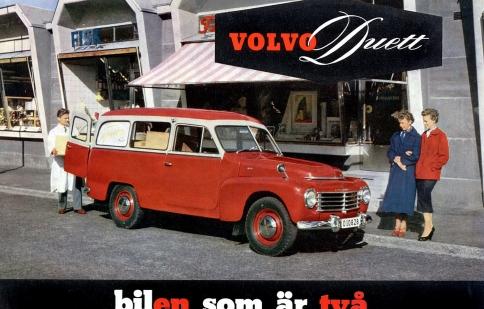 Volvo kỷ niệm 60 năm ra đời của Duett