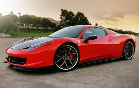 Ferrari 458 Spider thanh lịch hơn bao giờ hết
