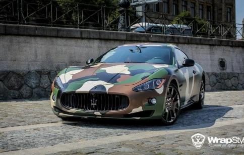 Maserati GranTurismo S độ phong cách Amry