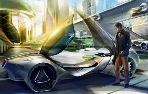 Lộ diện thiết kế tương lai ở LA Auto Show