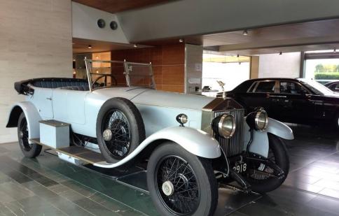 Khám phá chiếc Phantom đầu tiên của Rolls-Royce