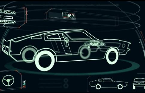 Lịch sử 50 năm Ford Mustang trong 2 phút