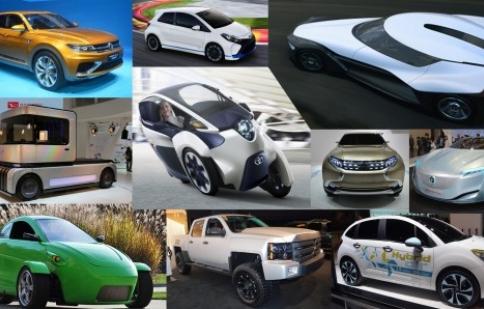 Top 10 mẫu xe xanh năm 2013