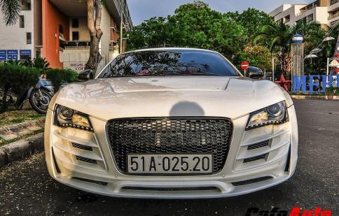 Audi R8 độ hầm hố xuống phố