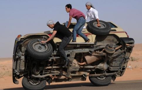 Ả Rập Saudi nói không với drift xe