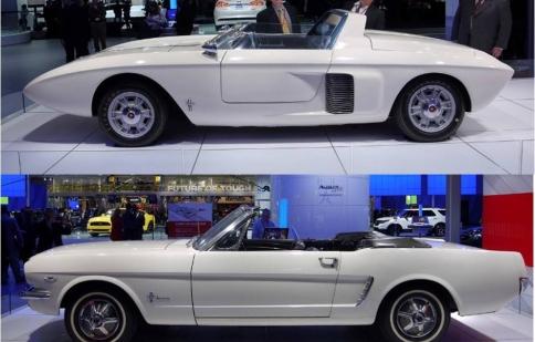 """Detroit Auto Show 2014: Ford """"hồi cổ"""" tại triển lãm"""