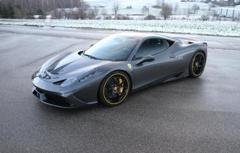 Novitec Rosso độ ngựa chiến Ferrari 458 Speciale