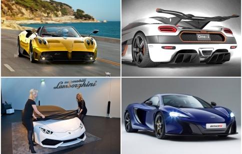 Những siêu xe được mong chờ nhất Geneva Motor Show 2014
