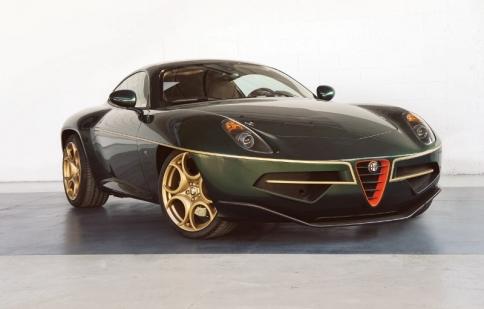 Alfa Disco Volante thêm dáng vẻ mới đầy chất quý tộc