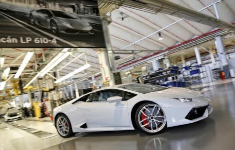 Khám phá dây chuyền lắp ráp Lamborghini Huracan