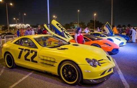 """""""Đã mắt"""" với dàn siêu xe tụ họp tại Qatar"""