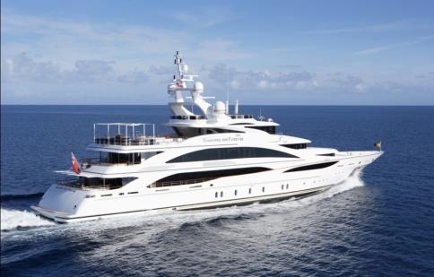 Chiêm ngưỡng du thuyền triệu đô sang trọng như cung điện