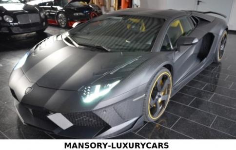 """""""Sốc"""" với siêu xe Aventador Mansory có giá gần 2 triệu USD"""