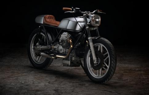 Dọn café racer Moto Guzzi V50: kỳ công cho nét đẹp giản đơn