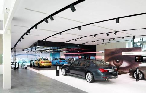 Tham quan showroom cực sang của BMW tại Bỉ
