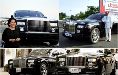 Những đại gia Việt sánh vai cùng Rolls-Royce (P.1)