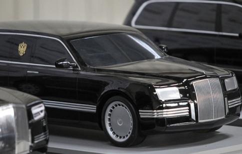 Lộ diện limousine mới của Vladimir Putin