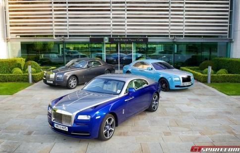 Rolls-Royce kỷ niệm 110 năm thành lập