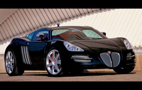 3,8 triệu đô cho siêu xe Jaguar Blackjag Concept độc nhất