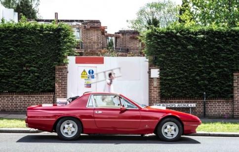 Ferrari 412 1989 hồi sinh thành xe bán tải