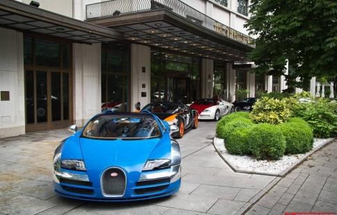 Khám phá châu Âu tráng lệ cùng Bugatti Veyron