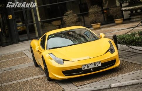 """Ferrari 458 Italia, """"ngựa"""" Ý trên đường phố Việt"""