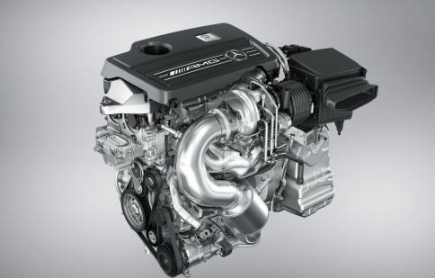 Động cơ Mercedes-Benz AMG đạt giải thưởng lớn