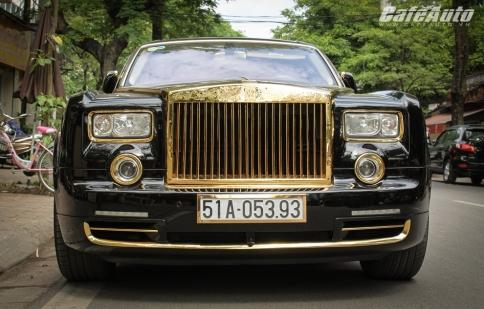 Mạ vàng xe hơi, thú chơi mới của đại gia Việt