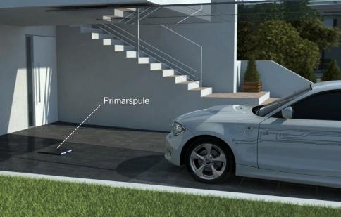 BMW phát triển sạc không dây cho i3 và i8
