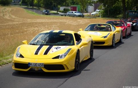 106 chiếc Ferrari tụ hội tại Đức