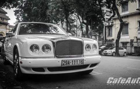 Hàng hiếm Bentley Arnage R Mulliner tại Việt Nam