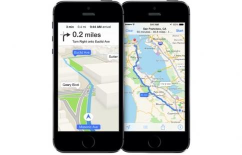 Apple ra mắt ứng dụng bản đồ mới có thể tránh kẹt xe
