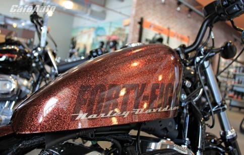 Chiêm ngưỡng Harley XL 1200X Forty-Eigth màu độc tại Sài Gòn