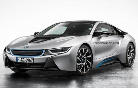 Bật cười với xe BMW không có lưới tản nhiệt quả thận