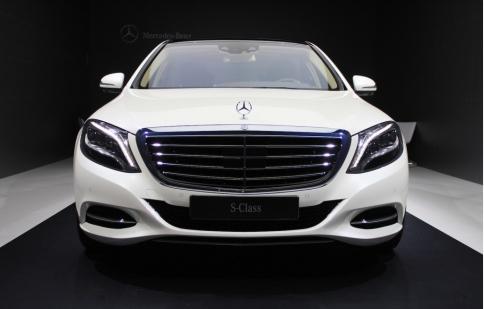 Mercedes tiết lộ thiết kế nội thất S-Class 2018