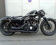 Gói độ Harley-Davidson Sportster dành cho người mê cafe đen