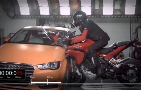 Ducati Multistrada D air: Giải pháp an toàn mới cho biker