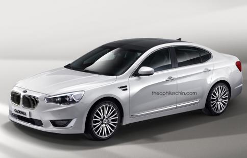 "Khi Kia ""cướp thận"" của BMW"