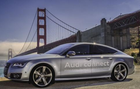 Audi được phép thử xe tự lái trên đường phố