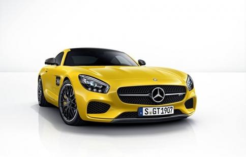 Sắc màu Mercedes AMG GT
