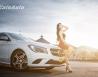 Thiếu nữ nóng bỏng bên Mercedes-Benz CLA